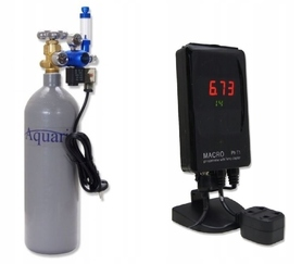 ZESTAW CO2 AQUARIO BLUE EXCLUSIVE Z BUTLĄ 2L