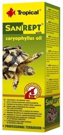 TROPICAL SANIREPT 15ml OLEJEK DO SKORUPY ŻÓŁWIA