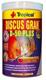 TROPICAL DISCUS GRAN D-50 PLUS 1000ml 440g PALETKI