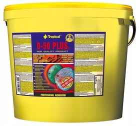 TROPICAL D-50 PLUS FLAKES 21L 4000g DLA PALETEK