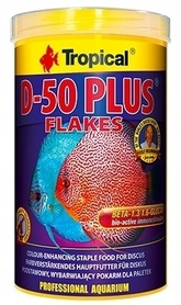 TROPICAL D-50 PLUS FLAKES 1000ml 200g DLA PALETEK